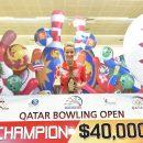 Diana Zavjalova wins Qatar Bowling Open 2016