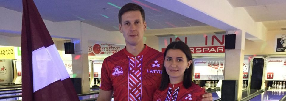 Jānis Zemītis and Marija Tkačenko takes 28th place in Europe's Champions Cup 2017