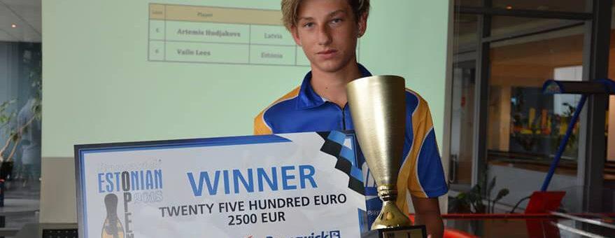 Artemijs Hudjakovs uzvar Brunswick Estonian Open 2018